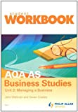 img - for AQA AS Business Studies: Workbook Unit 2 book / textbook / text book