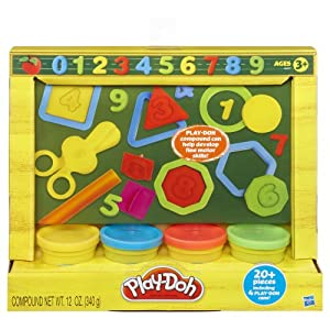 Play-Doh Learn About Shapes and Numbers