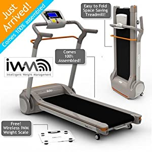 Yowza Fitness Lido Treadmill with IWM