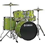 "Yamaha Gigmaker 5-Piece Standard Drum Set with 22"" Bass Drum White Grape Glitter"