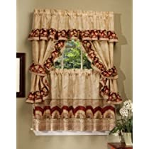 Achim Home Furnishings Sunflower Cottage Set Antique