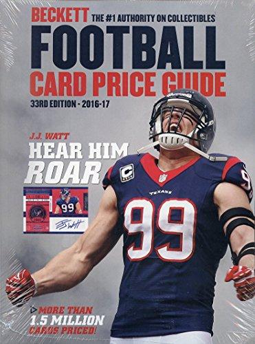 2016-beckett-annual-football-card-price-guide-33rd-edition-jj-watt-cover-9781887432054