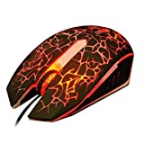 Actme Gaming Colorful USB Wired Mouse 2400 Wired DPI - B00Z9TSF9A