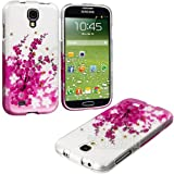 myLife (TM) Pink + White Cherry Blossoms and Bees Series (2 Piece Snap On) Hardshell Plates Case for the Samsung... by myLife Brand Products