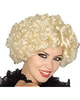 Forum Novelties Women's Short Curly Flapper Costume Wig