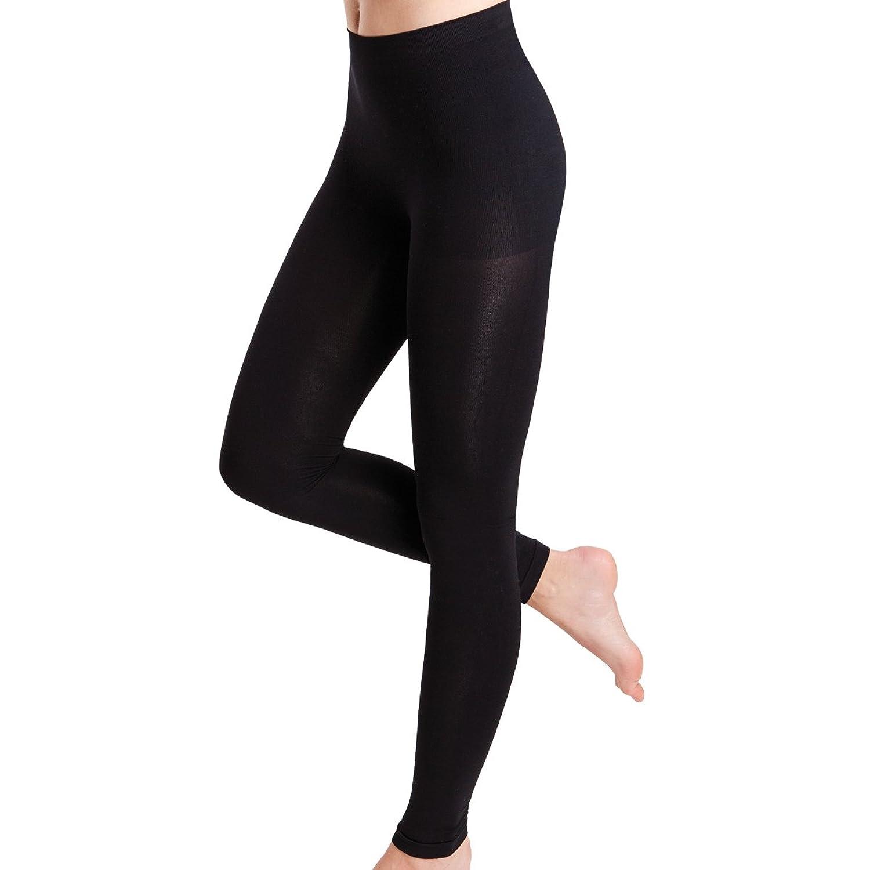 Figurformende Leggings für Damen - kaschiert sanft die Problemzonen -Seamless Form-Leggings ohne störende Nähte - von celodoro