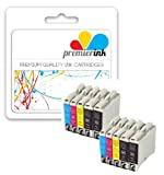 Premier Ink Multipack Of 10 Compatible Xl Ink Cartridges To Brother Lc1000 Lc 1000 Lc970 Lc 970 (4X Black & Ea. 2X Cyan Magenta Yellow) Lc1000Bk/Lc970Bk + Lc1000Y/Lc970Y + Lc1000C/Lc970C + Lc1000M/Lc970M For The Brother Dcp-130C / Dcp-330C / Dcp-135C / D