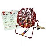 Professional Bingo Cage, Balls & Board