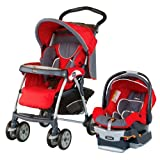 Chicco Cortina Keyfit 30 Travel System, Fuego