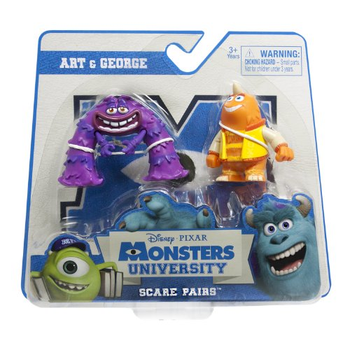 Monsters University - Scare Pairs - George & Art - 1