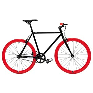 Retrospec Fixie Beta Series El Diablo Fixed Gear Single Speed Urban Road Bike