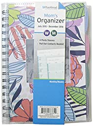 PlanAhead Mom\'s 18 Month Planner, July 2015 -December 2016, Assorted Colors, Color May Vary (86364)