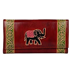 AGL Genuine Leather Wallets for women and Girls(AGL027)