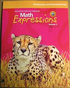 Math expressions homework and remembering grade 3 answer key
