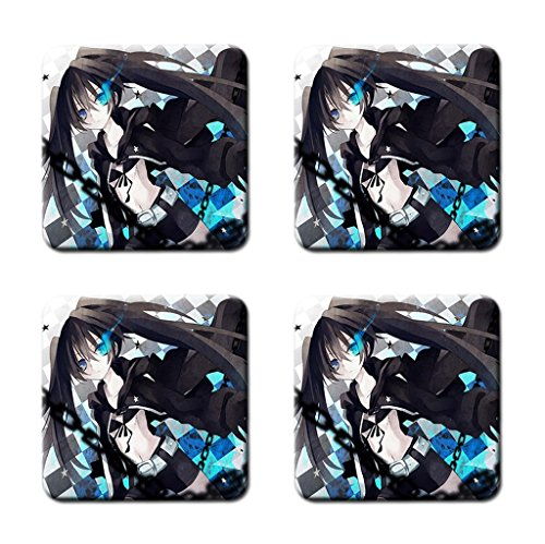 Cartoon Anime And Manga Personalized Cork Square Coasters Durable Drink Coasters Cup Mat Pat Mug Can Water Bottle
