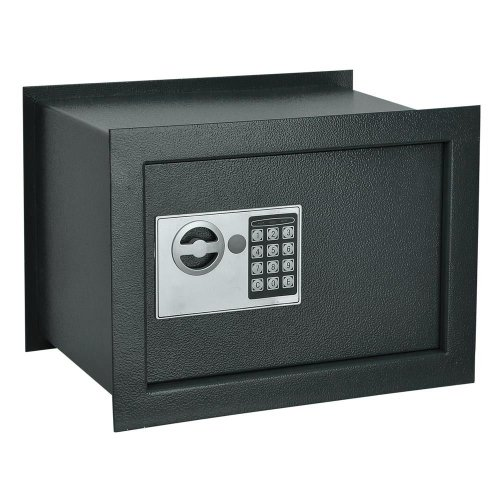 New In-Wall Electronic Digital Deep Wall Safe Recessed Box Gun Cash Jewelry Safe