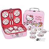 Hello Kitty 17 Pc Ceramic Toy Tea Set