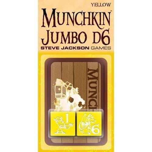 Munchkin Jumbo D6 Yellow