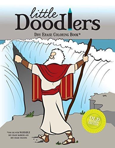 Little Doodlers Dry Erase Coloring Book - Old Testament