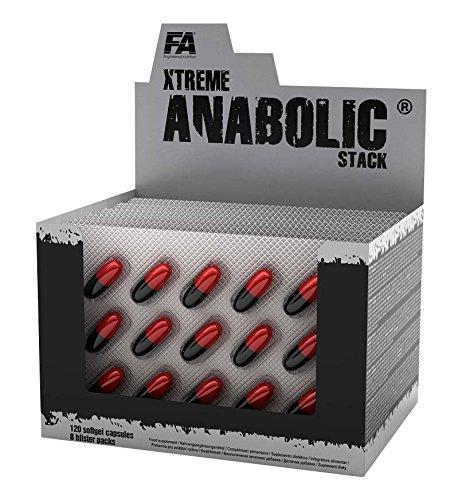 Xtreme Anabolic Stack 120 Kapseln - Testosteron - naturliche Anabolika
