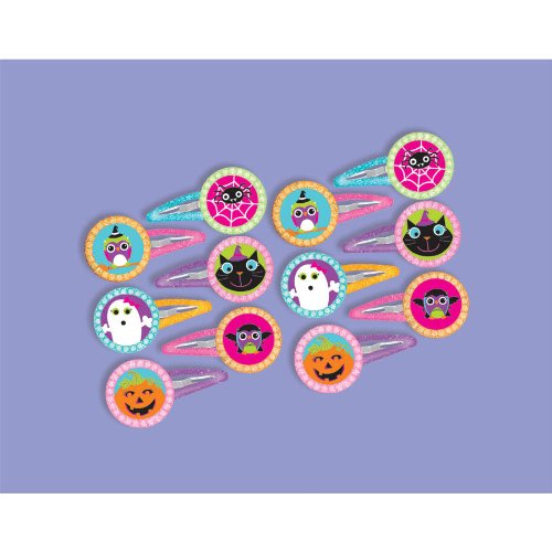 BARRETTES HALLOWEEN (12 per package)