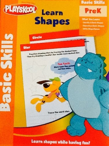 Playskool Basic Skills PreK Workbook - Learn Shapes
