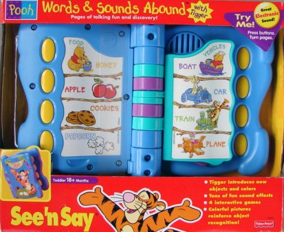 Words and Sounds Abound With Tigger-Pooh Edition - 1