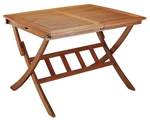 baumarkt direkt Klappausziehtisch »La Plata« 90 cm x 110, uittrekbaar tot 160 cm, braun online bestellen