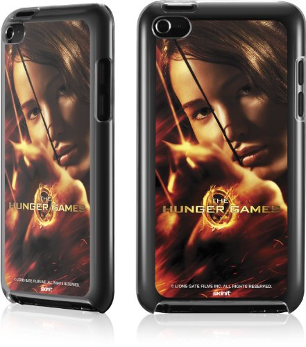 Skinit The Hunger Game -Katniss Bow & Arrow for LeNu Case for Apple iPod Touch (4th Gen)