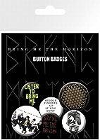 Posters: Bring Me The Horizon Badge Pack - Sempiternal, 4 X 25mm & 2 X 32mm B...