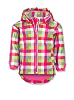 Playshoes Chaqueta Soft Shell Check (Fucsia)