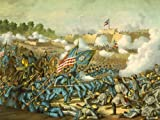 WAR AMERICAN CIVIL BATTLE WILLIAMSBURG USA NEW FINE ART PRINT POSTER PICTURE 30x40 CMS CC5667