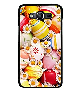 printtech Easter Eggs Flowers Colored Back Case Cover for Samsung Galaxy On5 Pro