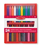 Melissa & Doug Triangular Crayons (24 Pieces)