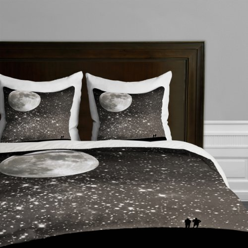 Deny Designs Shannon Clark Love Under The Stars Duvet Cover, Twin front-951070