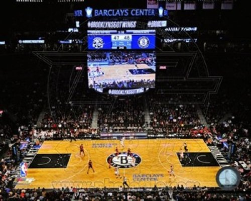 Barclays Center Inaugural Game November 3, 2012 Photo Print (10.00 x 8.00) (Barclays Center compare prices)