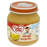 Cow & Gate Baby Balance Mango Surprise 4-6 Months 125g - Pack of 6