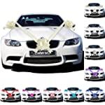 3 Bows 7 metres Ribbon Wedding Car Ri...