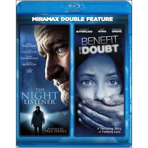 The Night Listener / Benefit Of The Doubt [Blu-ray]