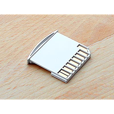 Apple Macbook Micro SD TF to SD Card Kit Mini Adaptor for Extra Storage Macbook Air / Pro / Retina White