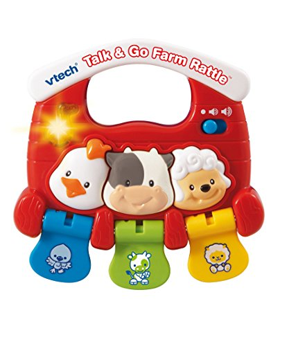VTech Baby Talk and Go Farm Rattle
