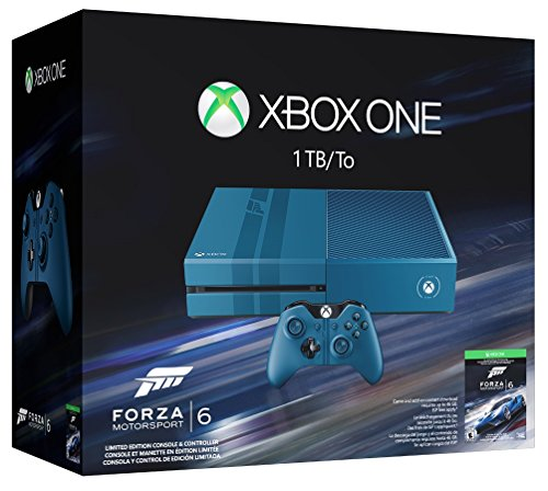 Xbox One 1TB Console - Forza 6 Limited Edition