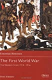 The First World War (2): The Western Front 1914-1916 (Essential Histories) (1841763470) by Simkins, Peter