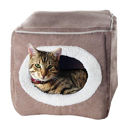 PETMAKER Enclosed Cube Pet Bed