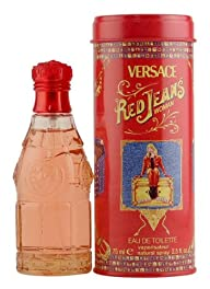 Versace Red Jeans Eau de Toilette for Women 2.5 oz