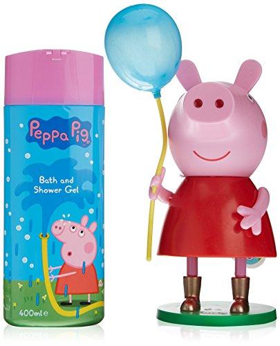 Peppa Pig 49010 Gel doccia-Soprammobile con palloncino 400 ml