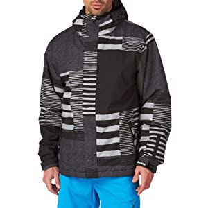 Billabong Men's Tweak UPG Snow Jacket - Black, X-Large