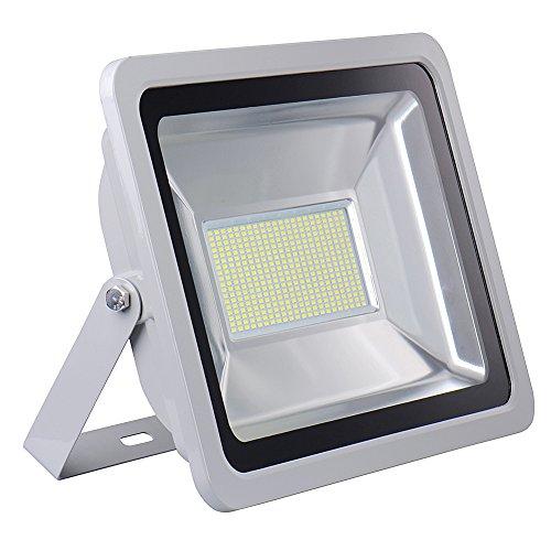 HimanJie-20W-30W-50W-100W-150W-200W-300W-500W-LED-Kaltwei-Wandstrahler-Lampe-Auenstrahler-Aluminium-Strahler-Flutlicht-220V-IP65200W