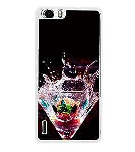 Cocktail Mocktail 2D Hard Polycarbonate Designer Back Case Cover for Huawei Honor 6