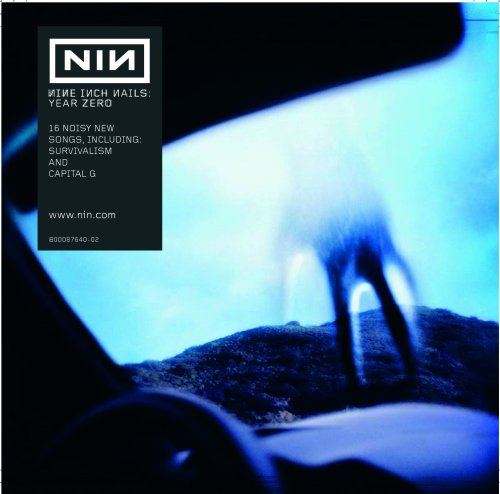 Original album cover of Year Zero by Nine Inch Nails